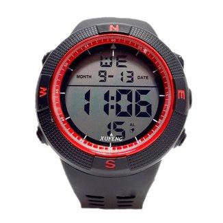 Relógio Digital Pisste Sport Esportivo Casual Alarme Cronômetro