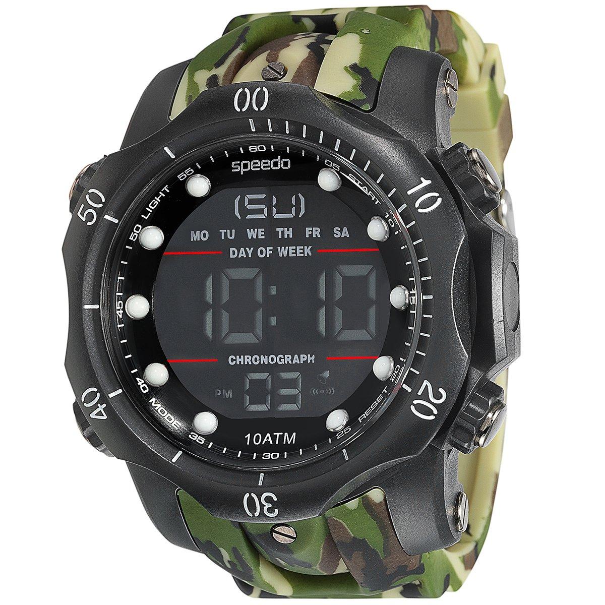 c058f0548a3 ... Relógio Digital Speedo 81078G0EGNP4 - Verde Militar. FEMININO