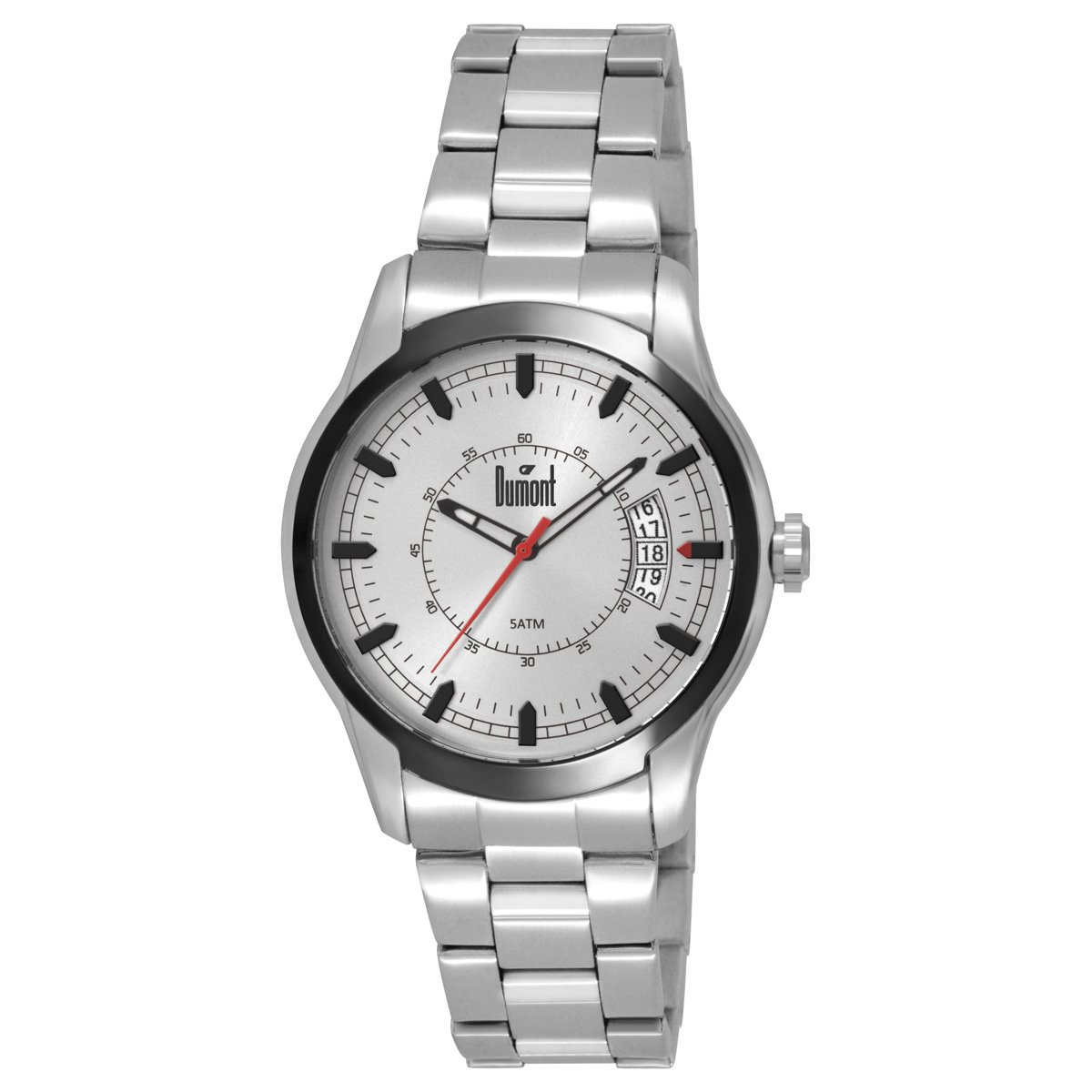 62fb206d86b Relógio Dumont Caixa e Pulseira De Metal - Compre Agora