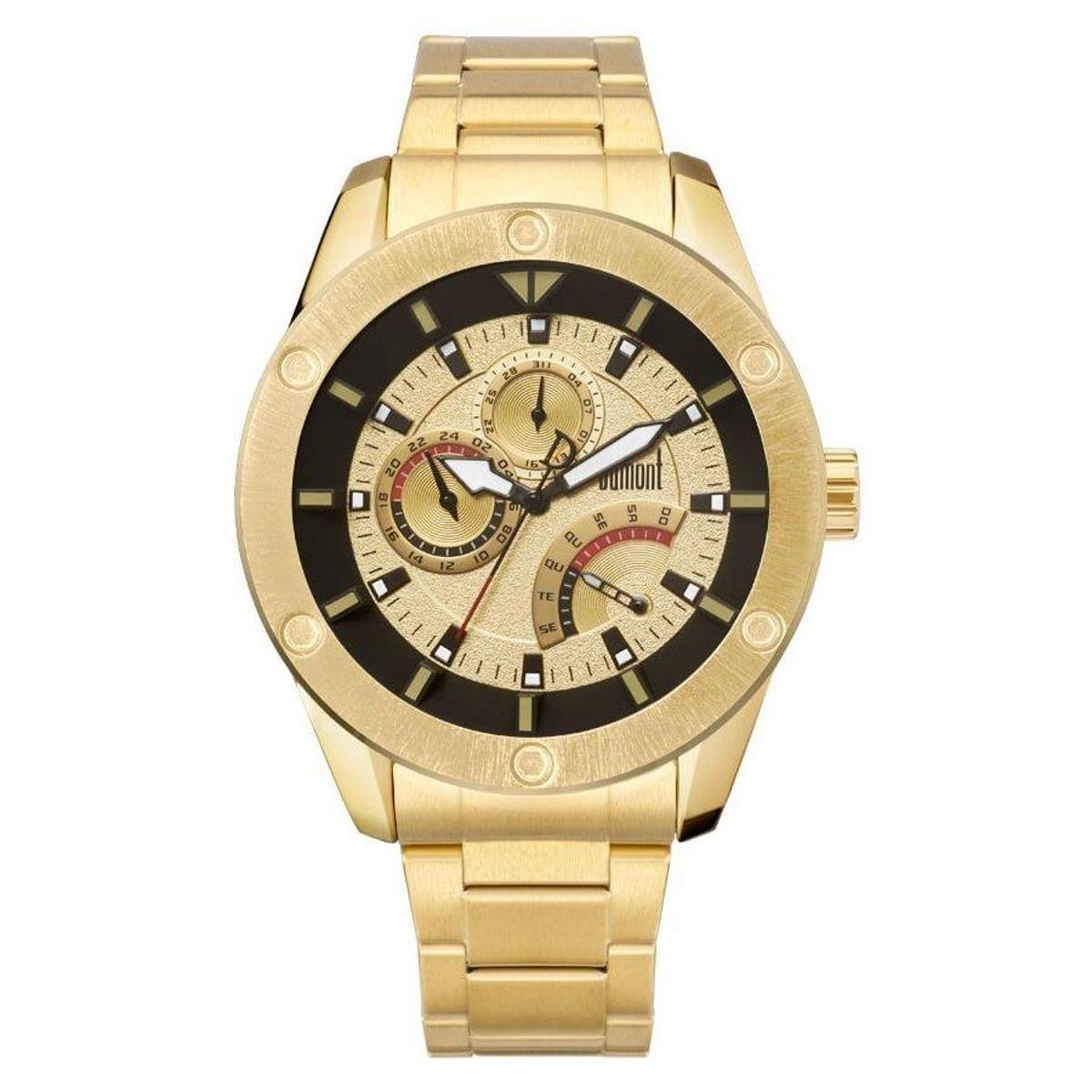 9bc8333e285 Relógio Dumont Masculino Dujr00Al 4D - Compre Agora