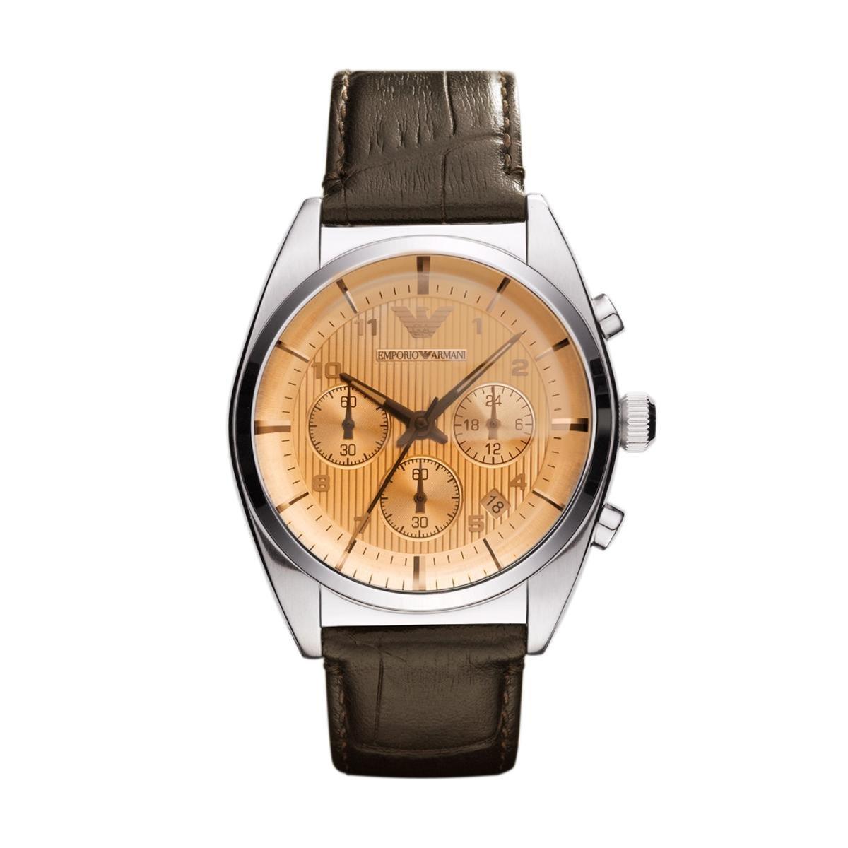 a27c6b5aeb5 Relógio Emporio Armani Masculino Marrom - HAR0395 Z HAR0395 Z - Compre  Agora