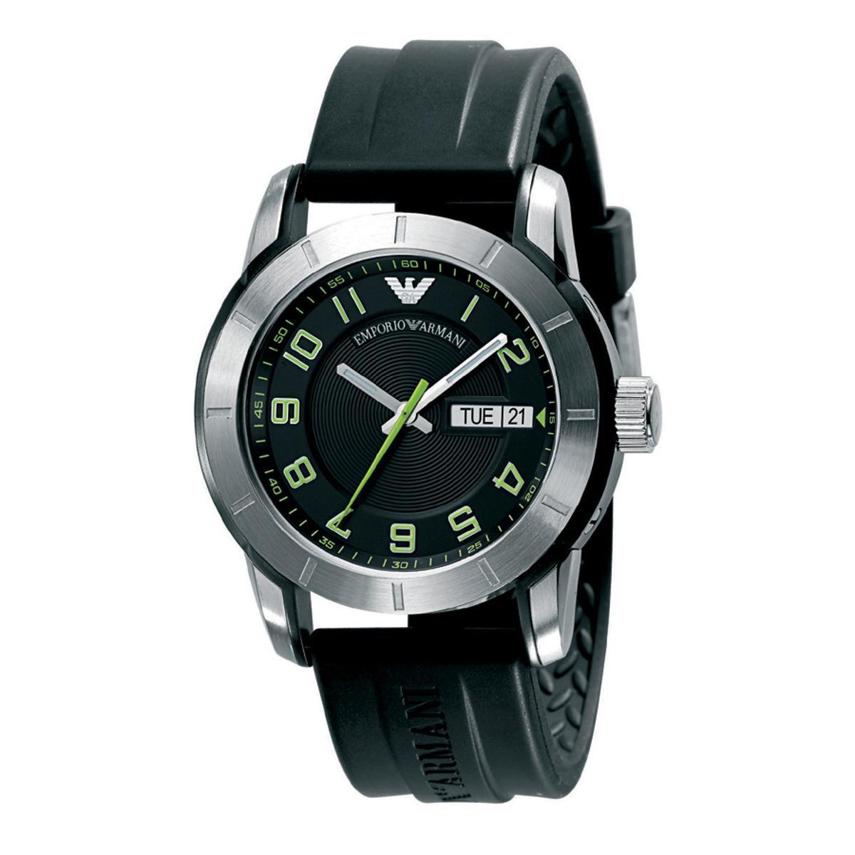 6abcbfc304af6 Relógio Emporio Armani Masculino Preto - HAR5871 N HAR5871 N - Compre Agora