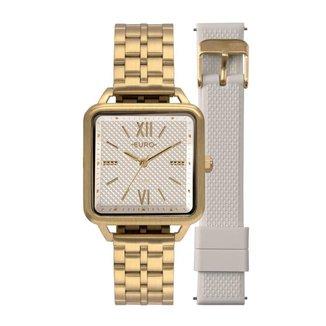 Relógio Euro Boyfriend 33mm licone Feminino