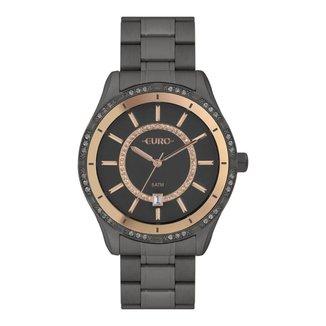 Relógio Euro Feminino Classic Preto Analógico EU21176HACK4F