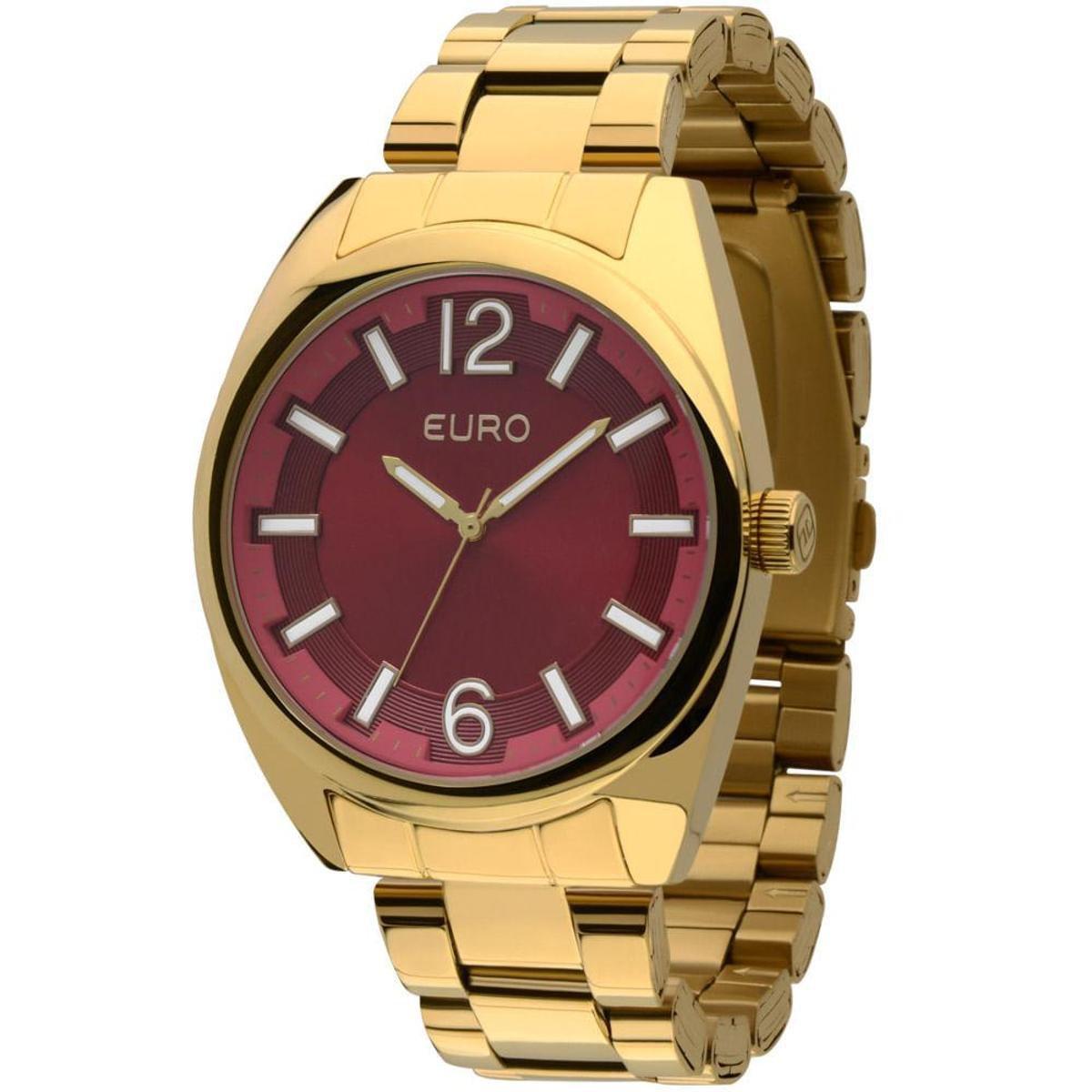 a05d55483d7 Relógio Euro Feminino Colors EU2035XZJ 4R- Vinho EU2035XZJ 4R ...