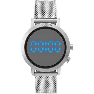 Relógio Euro Feminino Fashion Fit Prata - EUBJ3407AB/3P EUBJ3407AB/3P