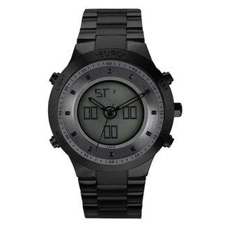 Relógio Euro Feminino  Preto AnaDigital EUBJ3889ACK4P