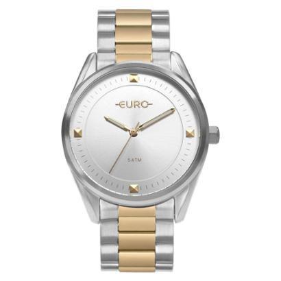 Relógio Euro Minimal Shine Bicolor EU Feminino