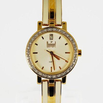 Relógio Feminino Analógico Dourado Dumont - DU2035LQG/4X