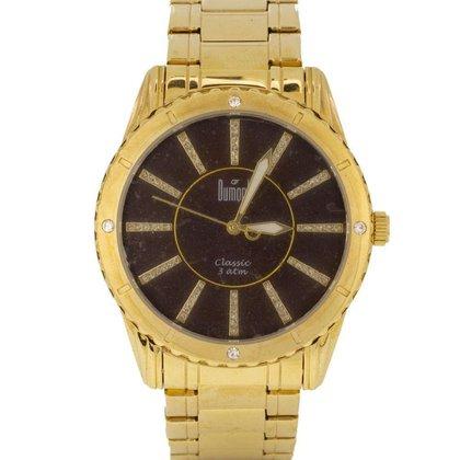 Relógio Feminino Analógico Dourado Dumont - SW85071R