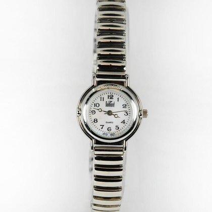 Relógio Feminino Analógico Prata Dumont - SF28415B