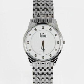 Relógio Feminino Analógico Prata Dumont - SP26408/B