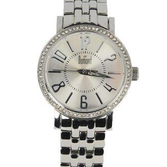 Relógio Feminino Analógico Prata Dumont - SS-25022S.