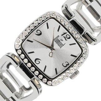 Relógio Feminino Analógico Prata Dumont - ST25058S