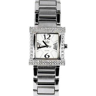 Relógio Feminino Analógico Prata Dumont - SW-25117S.
