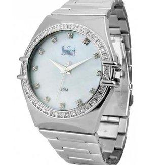 Relógio Feminino Analógico Prata Dumont - SX25116B