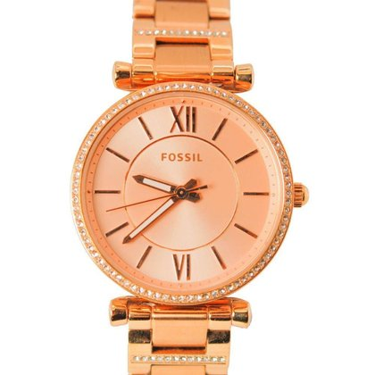 Relógio Feminino Analógico Rose Fossil - ES4301/1JN