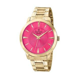 Relógio Feminino Champion CN29258L - Dourado