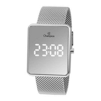 Relógio Feminino Champion Digital Espelhado CH400