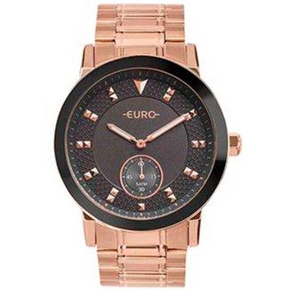 Relógio Feminino Euro EUVD78AA/4F Rose