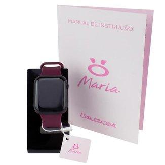 Relógio Feminino Orizom Maria LED (A PROVA D'ÁGUA!)