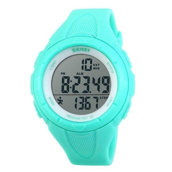 db06406b656 Relógio Feminino Skmei Pedômetro Digital 1108 VD - Verde - Compre Agora