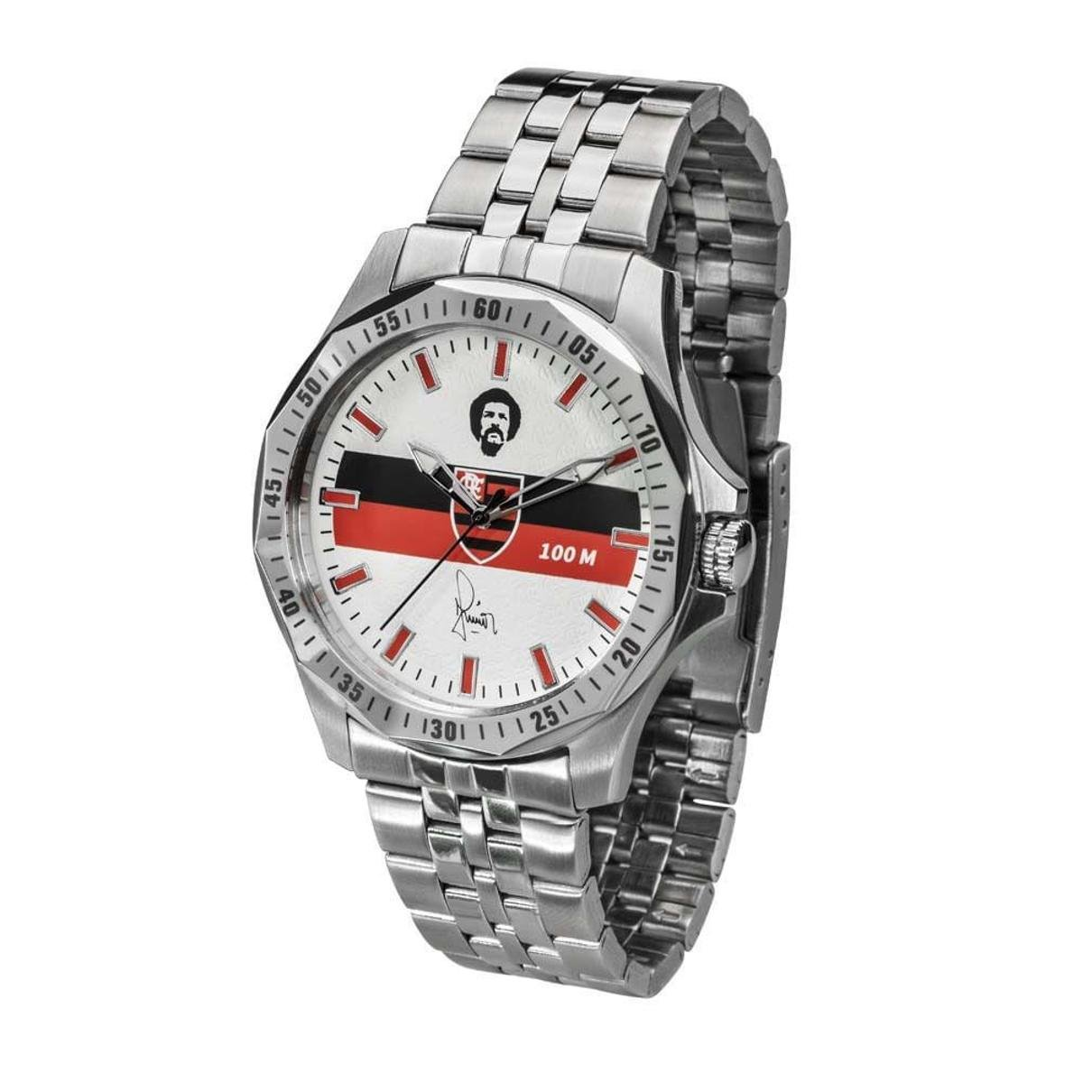 79121421427 Relógio Flamengo Maestro Júnior Masculino - Prata - Compre Agora ...