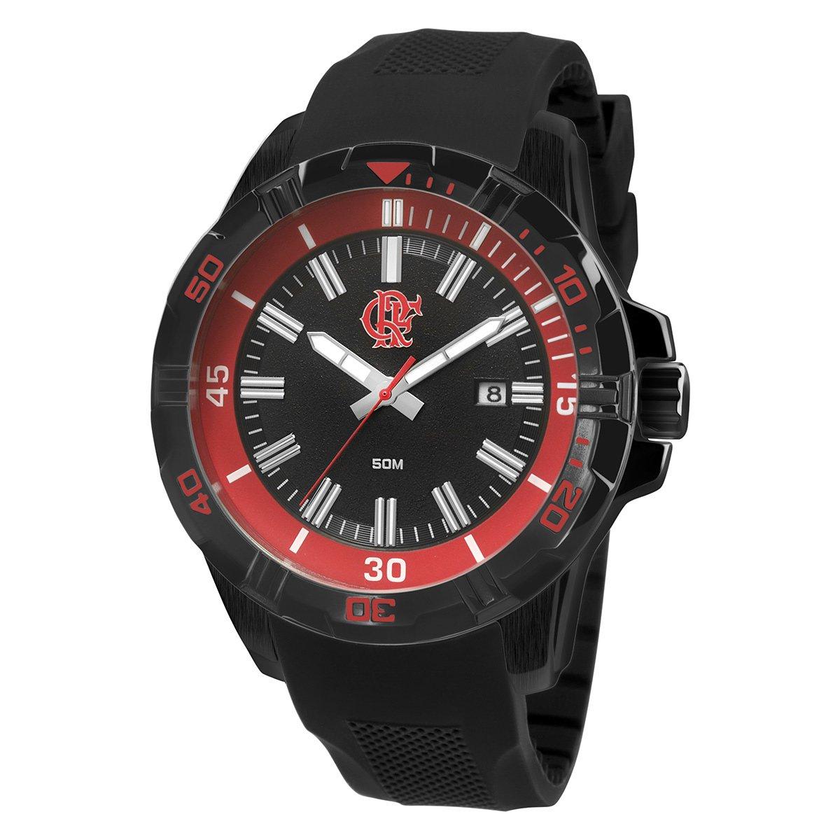 04efa5e2f56 Relógio Flamengo Technos Analógico IV Calendário - Compre Agora ...