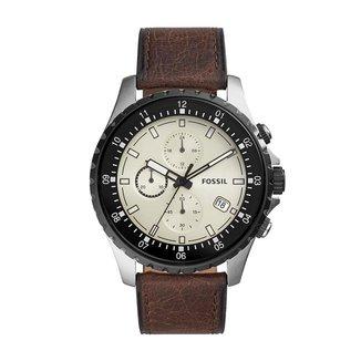 Relógio Fossil 48mm Couro Masculino