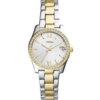 Relógio Fossil Feminino Analógico Bicolor - ES4319/1KN