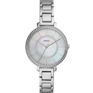 Relógio Fossil Feminino Analógico Prata e Pedras -ES4451/1KN
