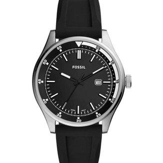 Relógio Fossil Masculino com Pulseira de Silicone - FS5535/8KN