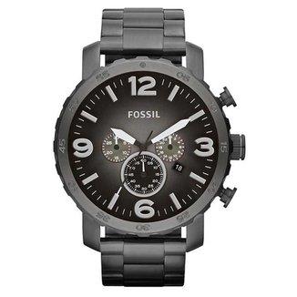 Relógio Fossil Masculino Nate Grafite JR14374PN