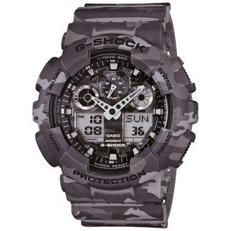 Relógio G-Shock Analógico GA-100CM