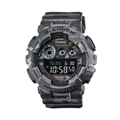 Relógio G-Shock Casio Digital Cinza GD-120CM