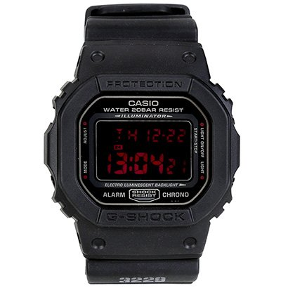 Relógio G-Shock Digital DW-5600MS-1DR - Unissex