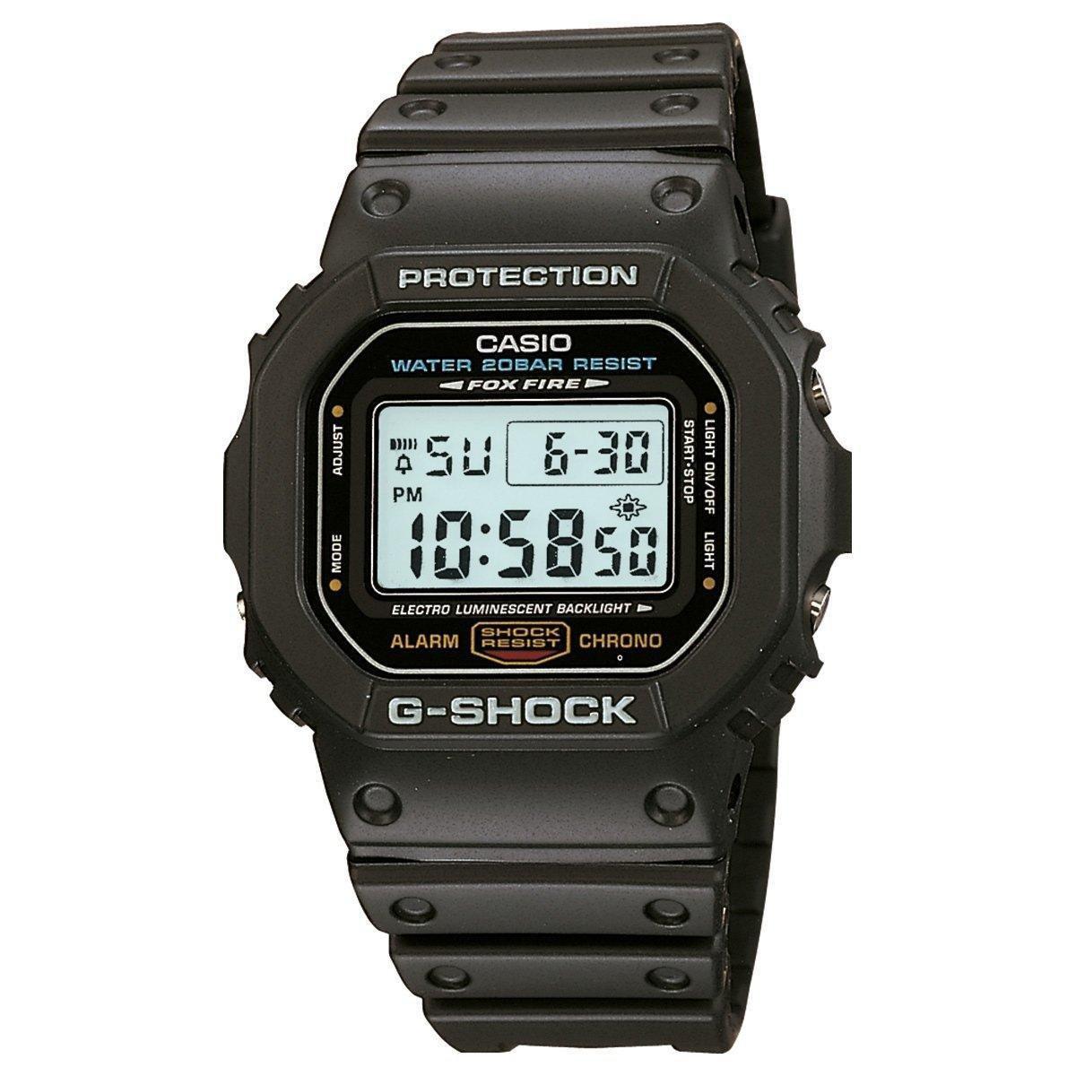 a243b5148a6 Relógio G-Shock Digital DW5600 - Preto - Compre Agora