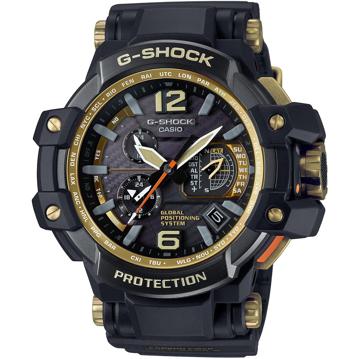 9b8c9f9268b Relógio G-Shock GPW-1000GB-1A - Preto e Dourado - Compre Agora ...