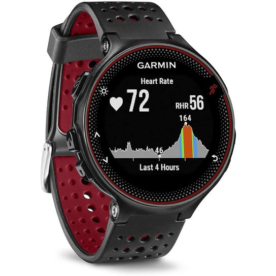 Relógio Garmin Forerunner 235  Smartwatch Gps de Corrida - Vermelho