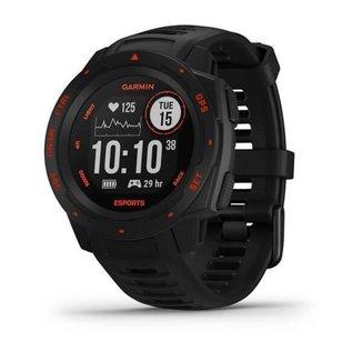 Relógio Garmin Instinct Esports Edition Preto Lava com Monitor Cardíaco de Pulso e GPS