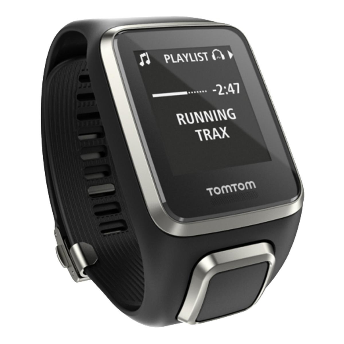 8a8ff3a6284 Relógio Gps Tomtom Spark Cardio + Music Premium Preto Large com 01 Pulseira  Extra Extra - Compre Agora