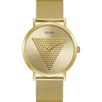 Relógio Guess Analógico Aço Dourado- GW0049G1