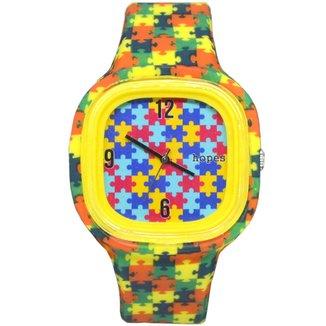 Relógio Hopes Autismo Print
