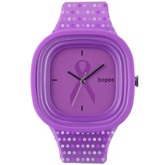 Relógio Hopes Câncer Infantil Print