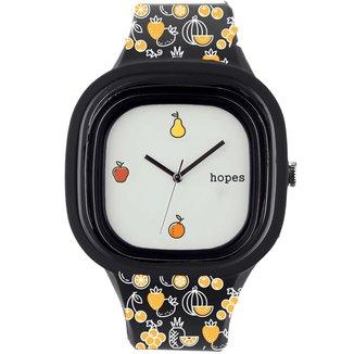 Relógio Hopes Fome Print