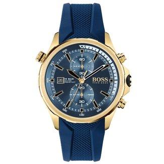 Relógio Hugo Boss Masculino Borracha Azul - 1513822