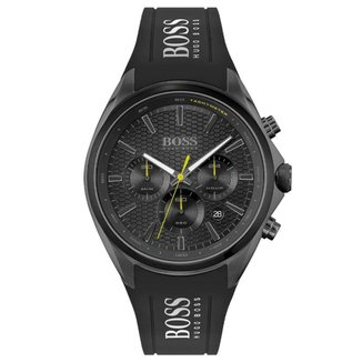 Relógio Hugo Boss Masculino Borracha Preta - 1513859