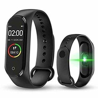 Relogio Inteligente Smart M5 Monitor Cardíaco Bluetooth
