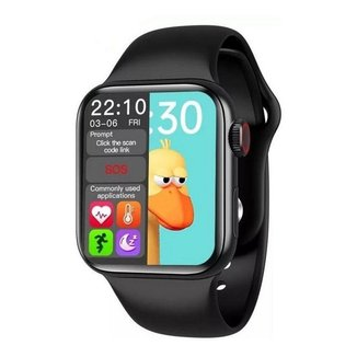 Relogio Inteligente Smartwatch Hw12 40mm Serie 6 Preto