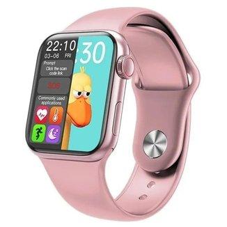Relogio Inteligente Smartwatch Hw12 40mm Serie 6 Rosa